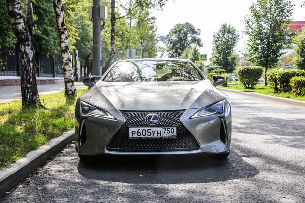 Тест-драйв: Lexus LC 500