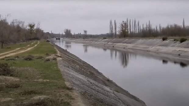 Россияне прокомментировал наполнение Северо-Крымского канала водой