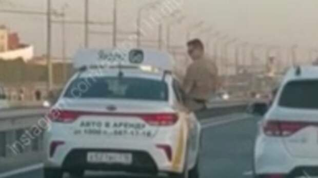 ГИБДД Казани оштрафовала высунувшегося из авто пассажира