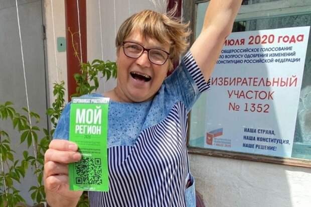 Анна Ганева выиграла квартиру на участке, где работает председателем избирательной комиссии