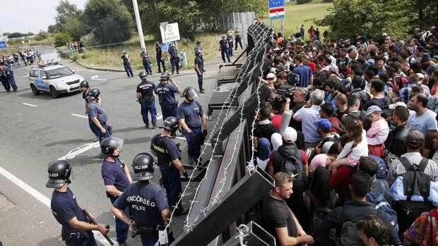 На границе с Венгрией