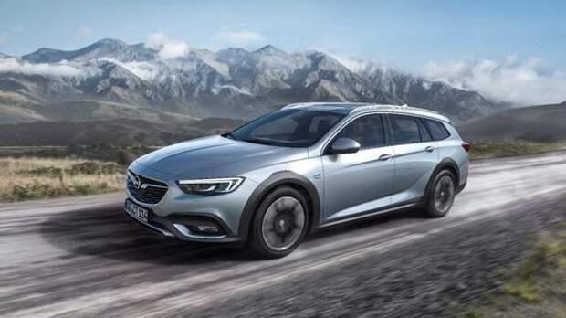Прощальный клон: представлен Opel Insignia Country Tourer и его копия