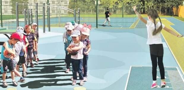 В Южном и Северном Медведкове планируют реконструировать два школьных стадиона