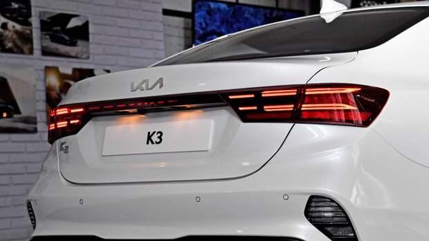 Kia обновила седан K3 и «заряженный» хэтчбек K3 GT