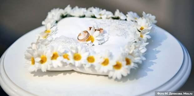 В ЗАГС рассказали, как часто женятся москвичи в новогодние праздники/Фото: М. Денисов mos.ru