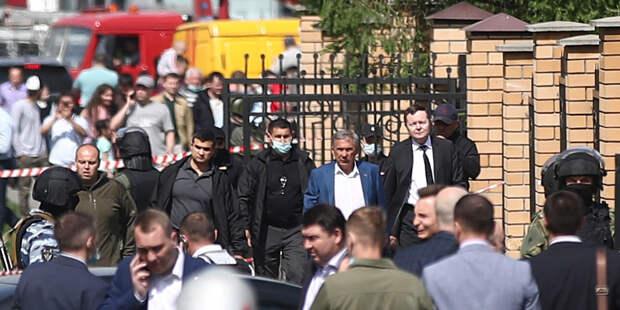 Стрельба в школе Казани: на место ЧП выехал глава Татарстана Рустам Минниханов
