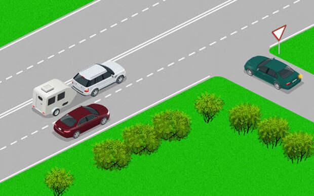 В чем опасность? Простой тест на водительский опыт