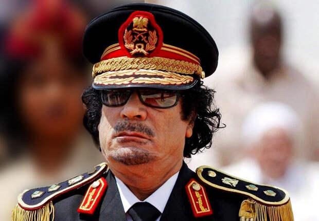 Муаммар Каддафи — ливийский революционер