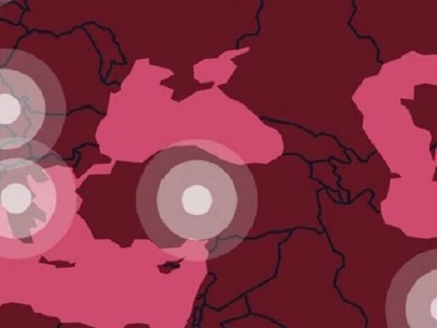 Посольство РФ призвало МОК исправить карту, где Крым включен в состав Украины
