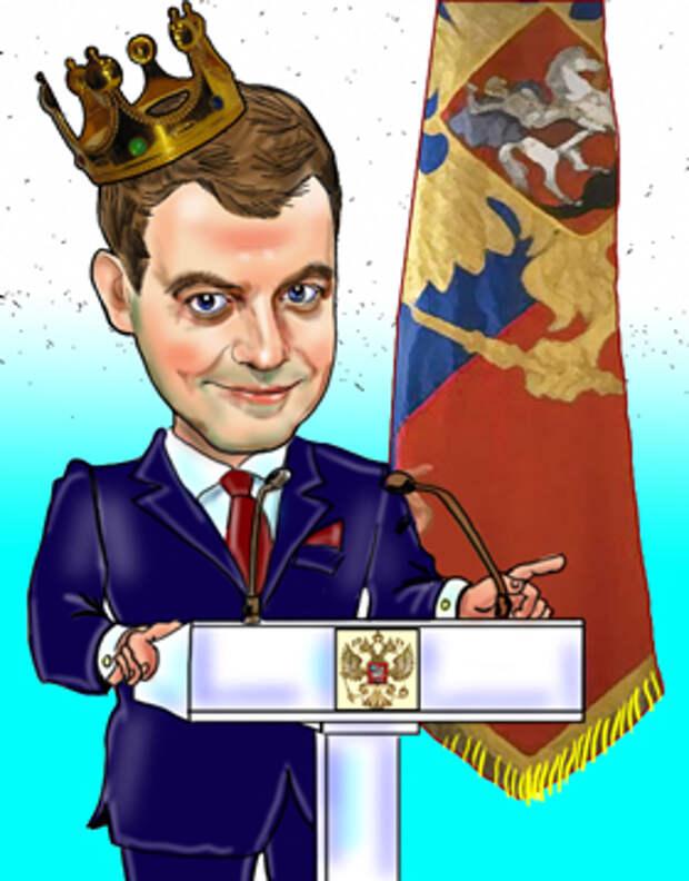 Д. А. Медведев пугает россиян принудительной вакцинацией