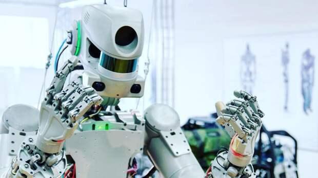 «Робот-Леонов» выйдет в открытый космос в 2023 году