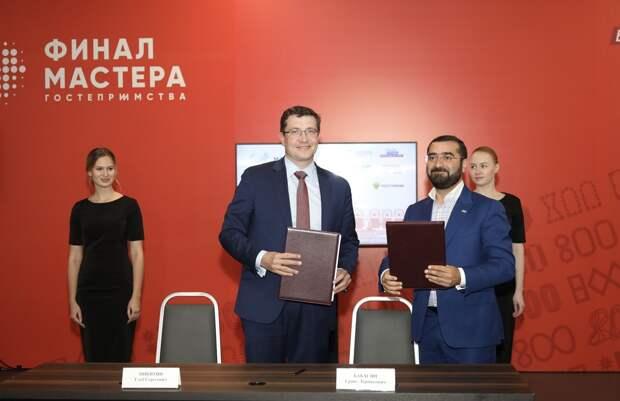 Глеб Никитин ипрезидент ОСИГ Грант Бабасян подписали соглашение осотрудничестве