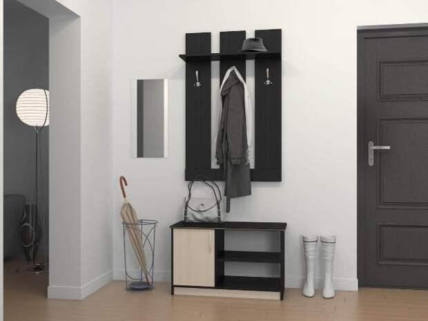 Малогабаритные прихожие в коридор в современном стиле (110 фото)