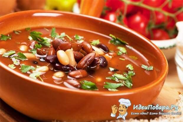 Фасолевый суп на скорую руку — рецепт