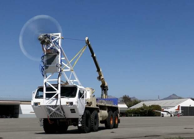Силовую установку для 19-местного водородного самолета испытали на грузовике
