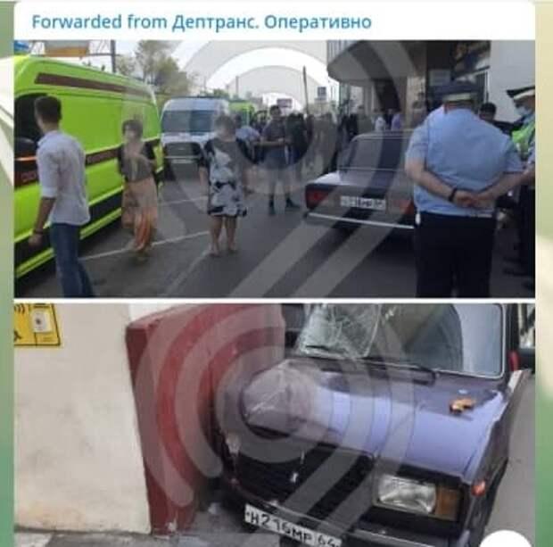Сбивший пешеходов на Волгоградке водитель оказался студентом МФЮА