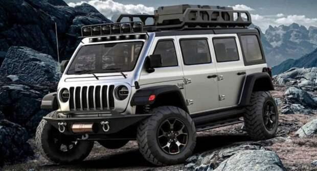 Jeep отказывает от создания внедорожного минивэна