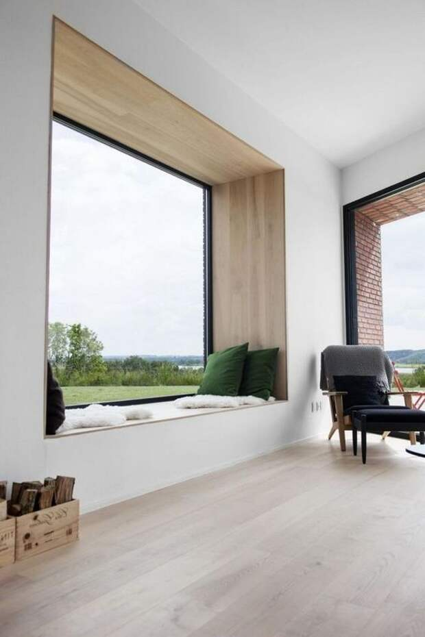 Восхитительные панорамные окна для вашего дома