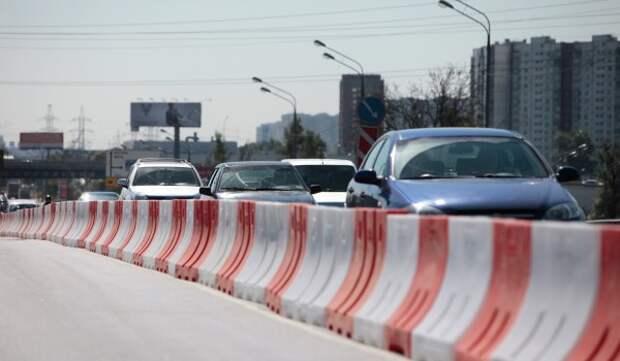 22 апреля движение на пересечении улиц Новопесчаная и Луиджи Лонго перекроют