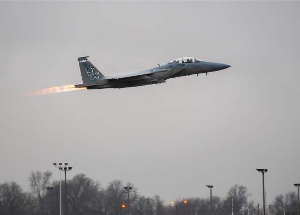 ВВС США получили первый тяжеловооруженный истребитель F-15EX