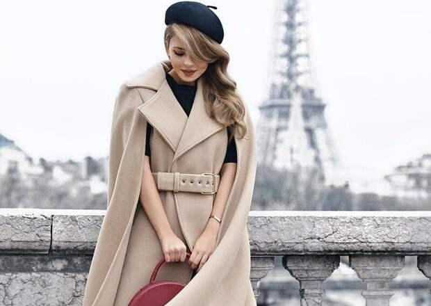 Одежда с разрезами для настоящих леди: как носить осенью модные кейпы
