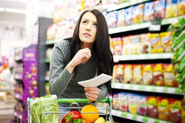 Почему в магазин лучше ходить со списком покупок?