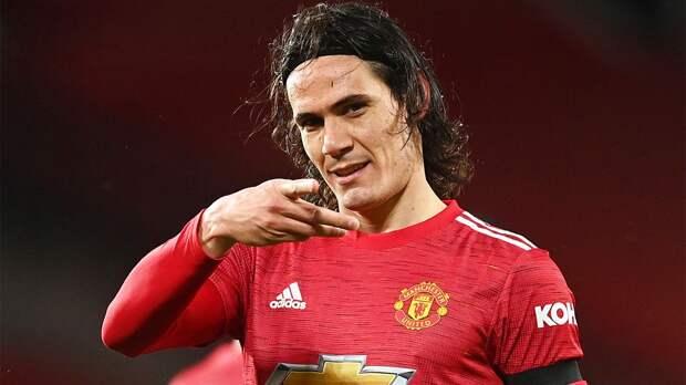 Источник: Кавани продлил контракт с «Манчестер Юнайтед»