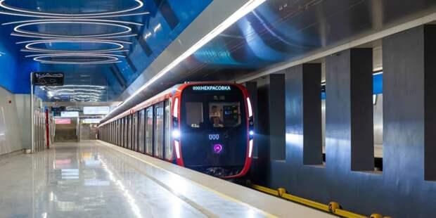 Парк вагонов столичной подземки обновится на 80% до конца 2023 года