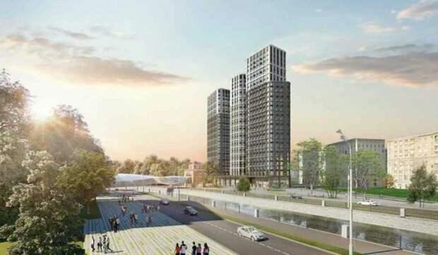 """Пешеходный мост через Яузу возле станции метро """"Электрозаводская"""" построят в 2022 году"""