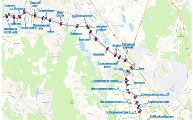 Через Молжаниновский пройдет новый автобусный маршрут