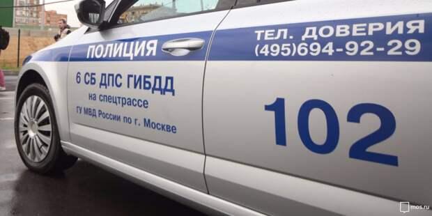 В аварии на Волгоградке водители отделались испугом
