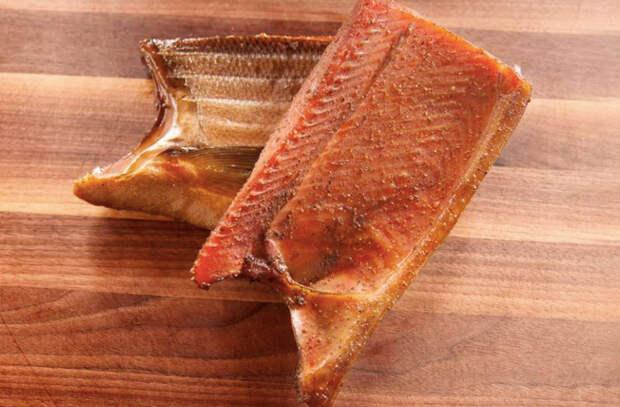 Делаем пастрому из лосося