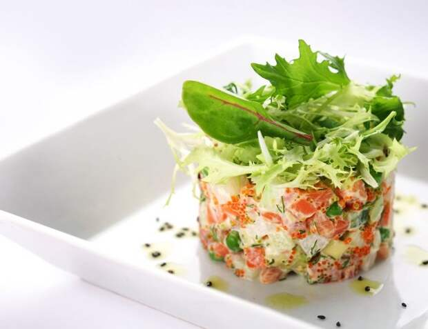 рецепты быстрых салатов