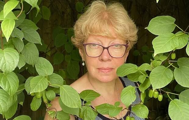 Жительница Останкина вырастила на своем участке актинидию