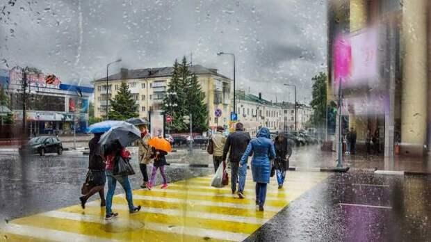 Синоптики прогнозируют дождь вМоскве на19сентября