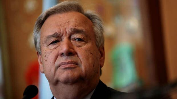 """Генсек ООН призвал любой ценой избежать """"новой холодной войны"""""""