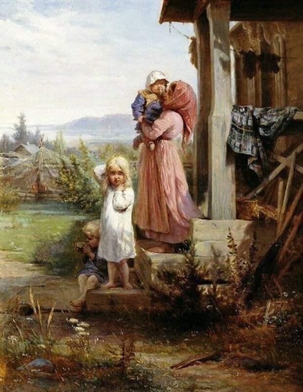 Посещение детских домов