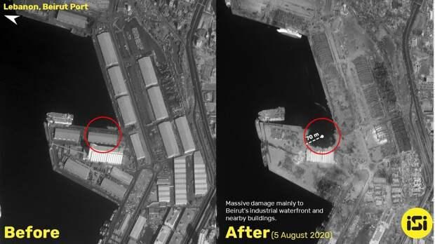 О «русском следе» взрыва в порту Бейрута