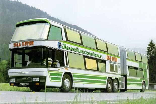 Neoplan Jumbocruiser автобус, автодизайн, дизайн