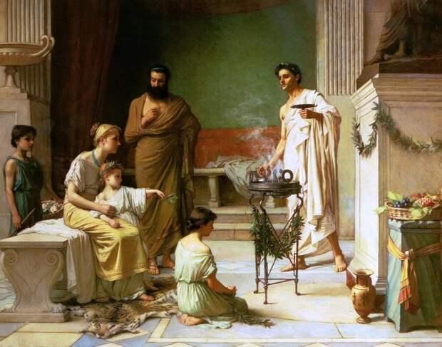 В каком случае римская женщина становилась независимой