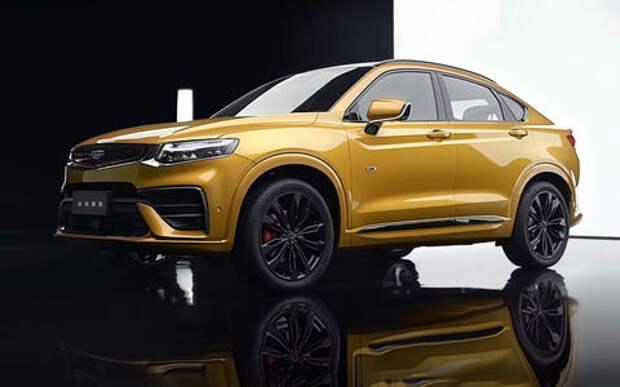Geely показала новый кросс-купе Xingyue