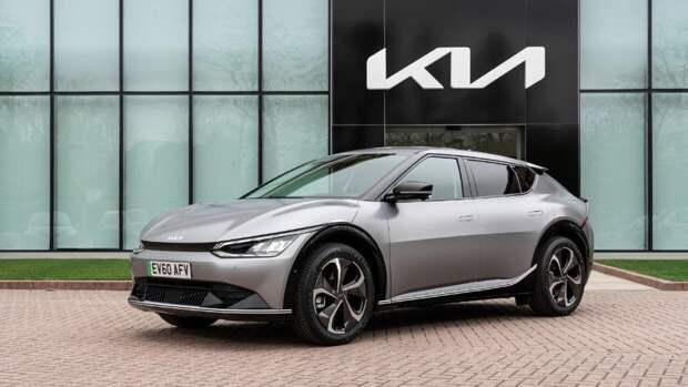 Новый электрокроссовер Kia EV6 поступил в продажу