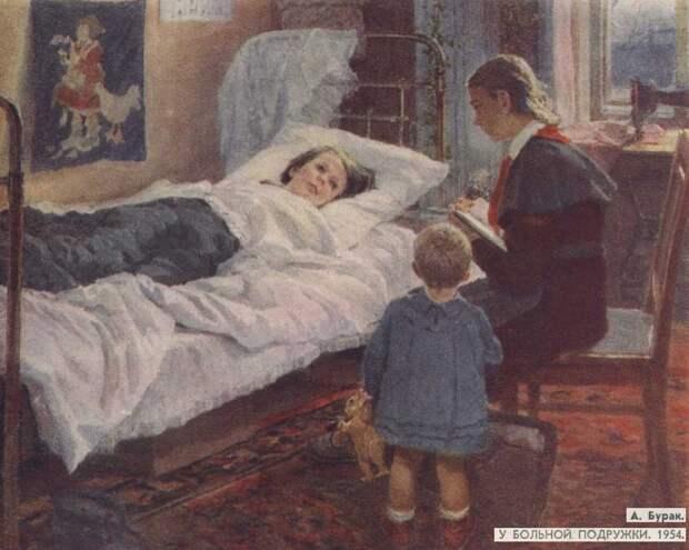 """Александр Бурак. Картина """"К сыну за помощью"""""""