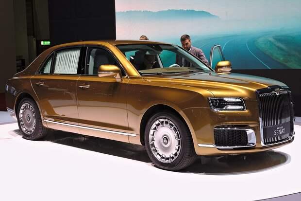 Глава Ростеха высоко оценил российский автомобиль Aurus