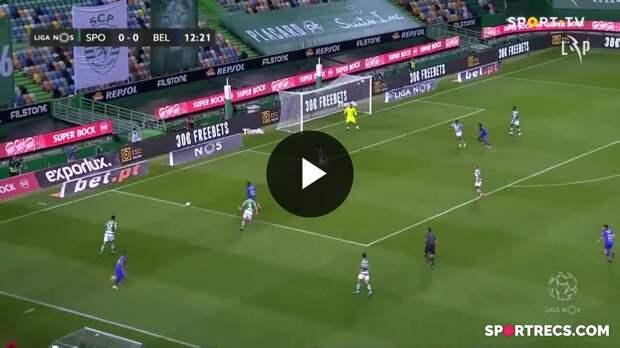 Highlights: Sporting 2-2 Belenenses SAD (Liga 20/21 #28)