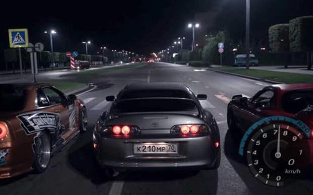 Один в один: вот как выглядит Need For Speed в реальной жизни!