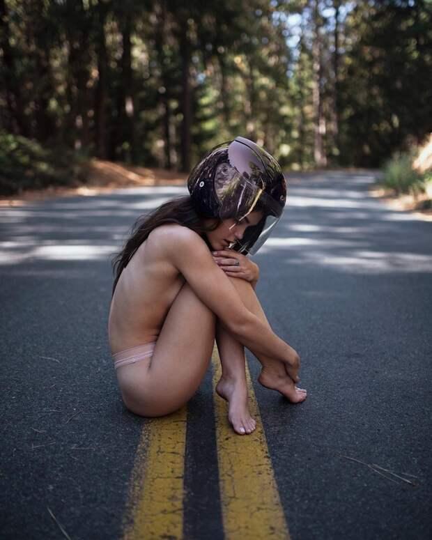 Чувственные фотографии девушек Джордин Мур