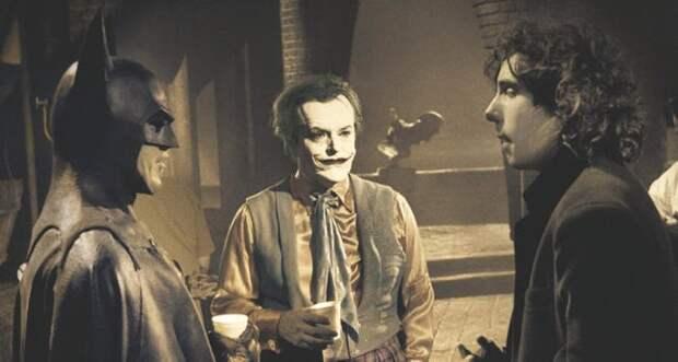 8 прикольных ретро-фото со съемок «Бэтмена»