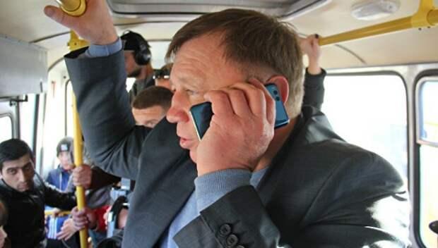 Симферопольские чиновники пересели на общественный транспорт (ФОТО, ВИДЕО)