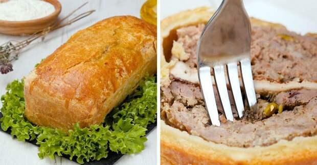 Как приготовить французский паштет